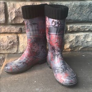 Kamik lined robber boots